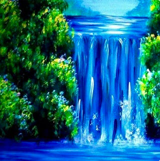 Tall Waterfall Painting Party Make & Take