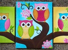Owls In A Tree Painting Party Make & Take