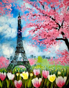 Eiffel Tower Painting Party Make & Take