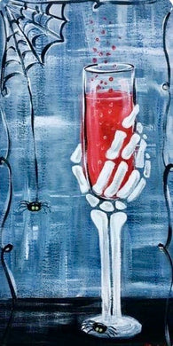 Bloody Champagne Painting Party Make & Take