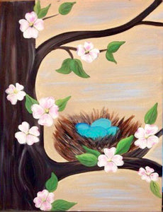 Nest In Tree Painting Party Make & Take