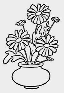 Daisies In Vase Painting Party Make & Take