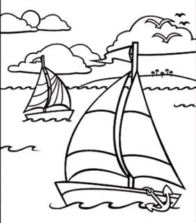 Two Sail Boats Painting Party Make & Take
