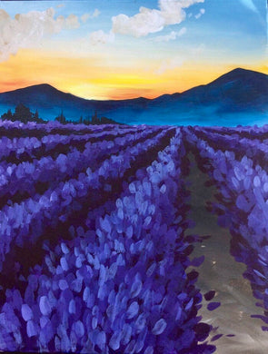 Lavender Mountains Painting Party Make & Take