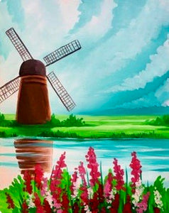 Windmill Painting Party Make & Take