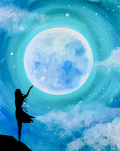 Touching The Moon Painting Party Make & Take