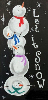 Let It Snow Painting Party Make & Take