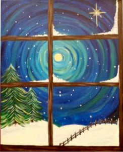 Winter Window Painting Party Make & Take