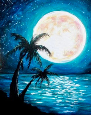 Island Moon Painting Party Make & Take