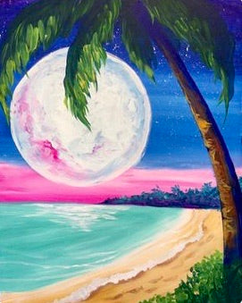 Moon Beach Painting Party Make & Take