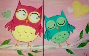 Owls Together Painting Party Make & Take