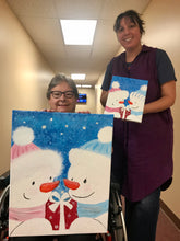 Snowman Gift Painting Party Make & Take
