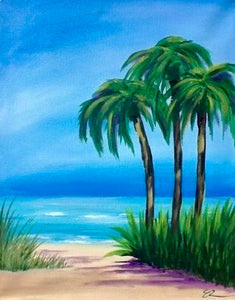 Palm Tree Painting Party Make & Take