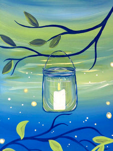 Candle In Jar Painting Party Make & Take