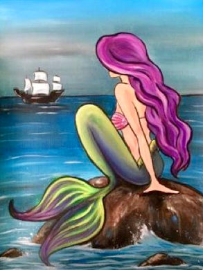 Mermaid And Ship Painting Party Make & Take