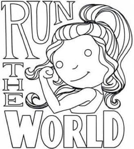 Run The World Painting Party Make & Take