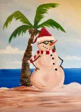 Palm Tree Christmas Tree Painting Party Make & Take
