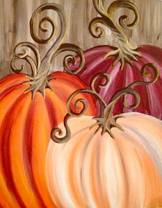 Three Pumpkins Painting Party Make & Take