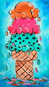 Ice Cream Painting Party Make & Take