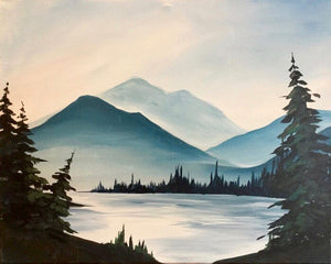 Misty Mountains Painting Party Make & Take