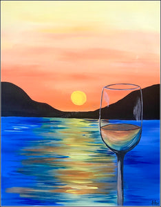Drinks At The Beach Painting Party Make & Take
