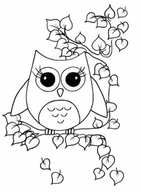 Cartoon Owl Painting Party Make & Take