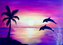 Dolphin Painting Party Make & Take