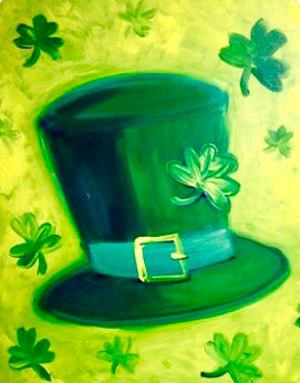 Shamrock Hat Painting Party Make & Take