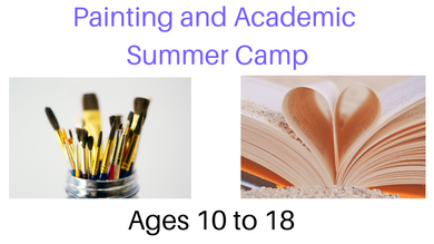 Painting And Academic Summer Camp 2019