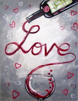 Love And Wine Painting Party Make & Take