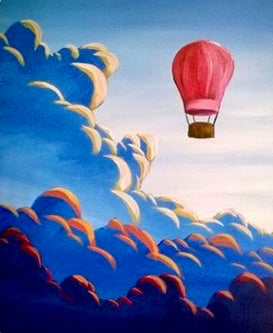 Hot Air Balloon Painting Party Make & Take