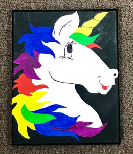 Unicorn Painting Party Make & Take