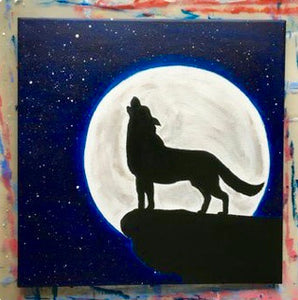 Wolf Painting Party Make & Take