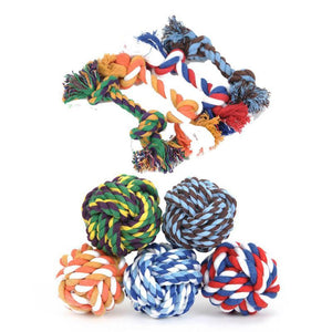 Flossy 3-Knot Rope Toy