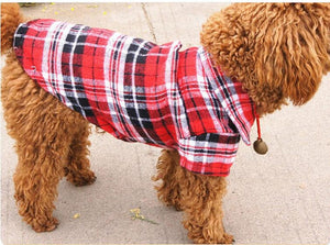 Plaid Dog Shirt