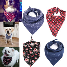 Dog Bandana Cotton Scarf