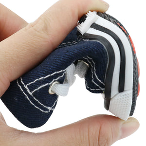 Denim Dog Shoes Sport Anti-slip Sneaker