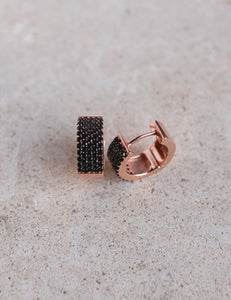 Classico Nero Earrings