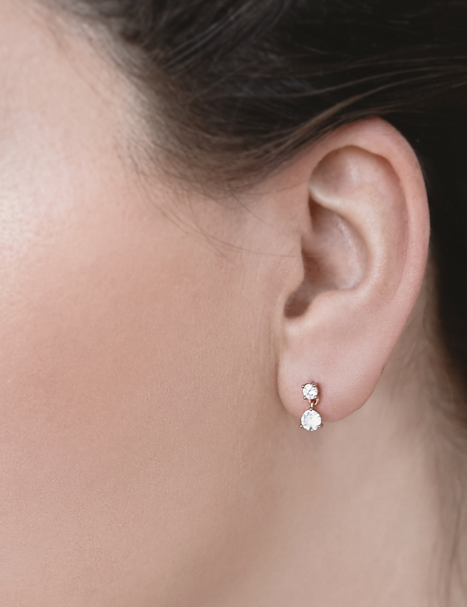 Small Zircon Earrings