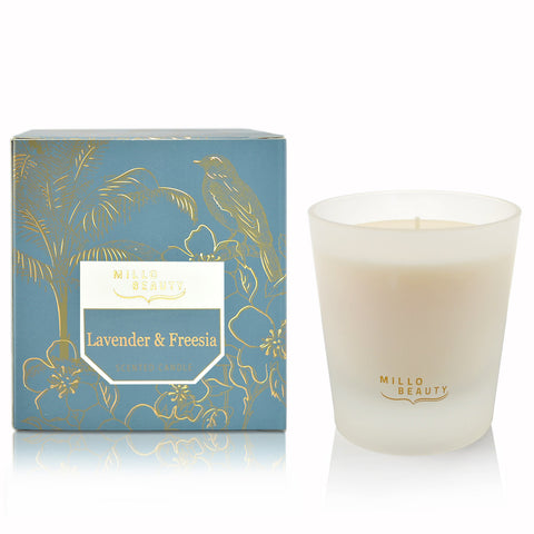 Lavender & Freesia Scented Candle