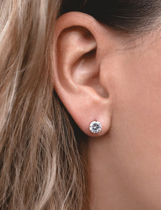 Medium Zircon Earrings
