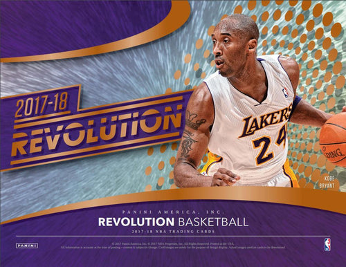 2017-18 Revolution Basketball  Inner Case 8 Boxes PYT #1