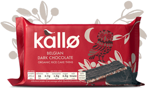 Kallo Rice Cakes with Dark Chocolate