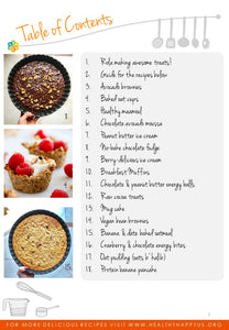 Healthy Dessert Booklet
