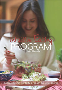 Intuitive Eating Program- Gold Package