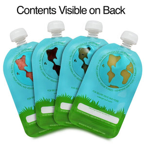 Reusable Food Pouch Large (Pack of 2)