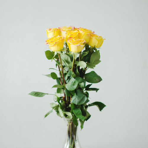 Roses - High Yellow  - Bunch