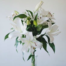 Lilies - Oriental - White  - Bunch
