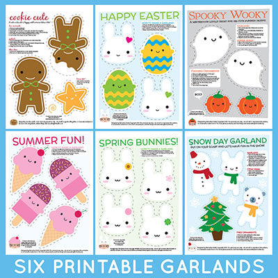 printable garlands