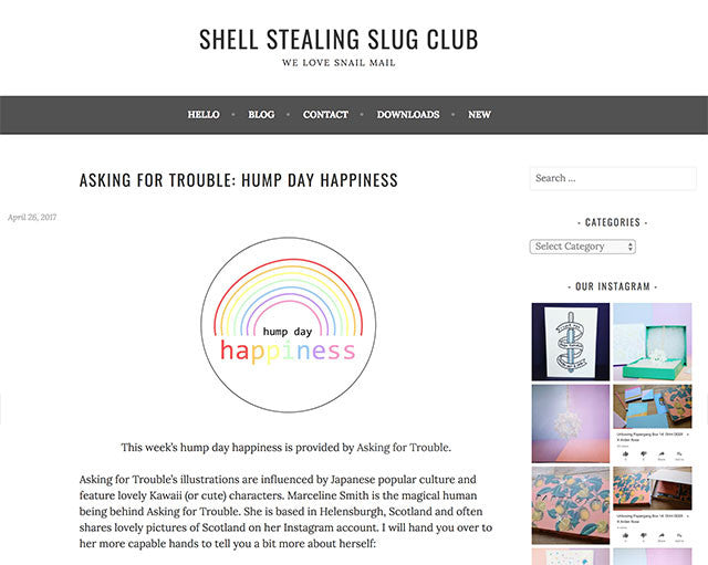Shell Stealing Slug Club